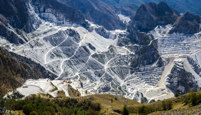 Marble quarries and tasting